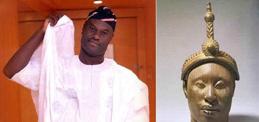 Ooni of Ife Oba Adeyeye-Enitan Ogunwusi.
