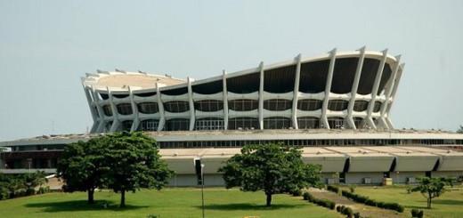 National Theatre. Lagos, Nigeria.,