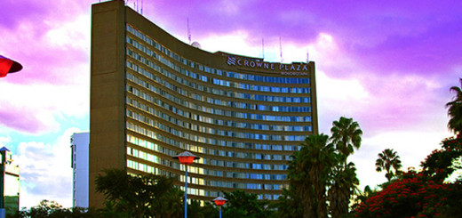 African Sun Headquarters in Harare, Zimbabwe.