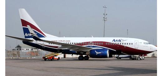 Arik Air plane.