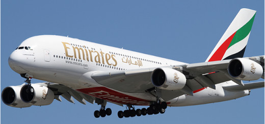Emirates Airline  Plane.