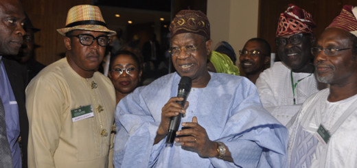 Lai Mohammed, Minister of Information and Culture.