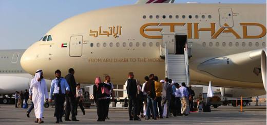 Etihad Airways plane.