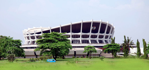 National Theatre, Lagos, Nigeria.