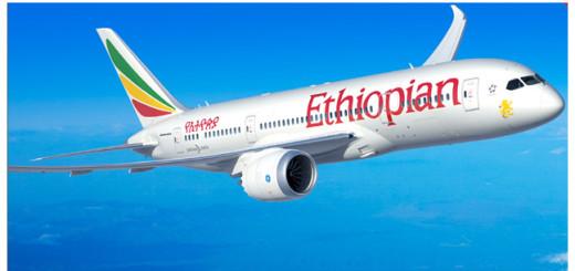 Ethiopian Airlines plane.