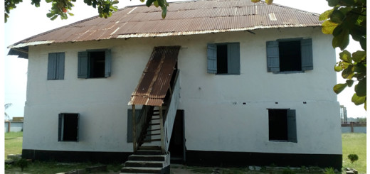 First story building in Nigeria at Badagry.
