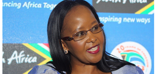 Tokozile Xasa, New South Africa Tourism Minister.